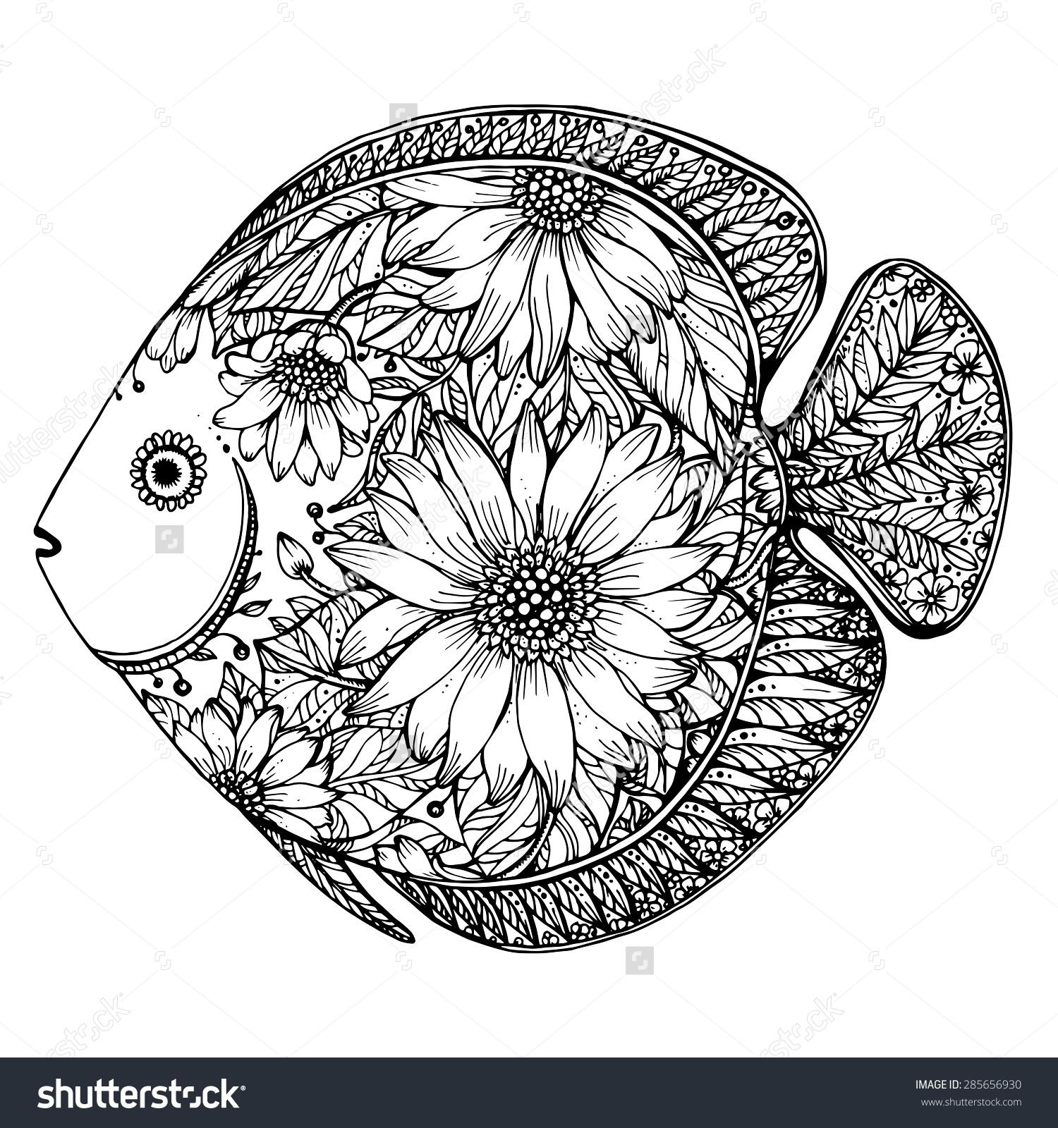 Раскраска для детей 4 лет цветок