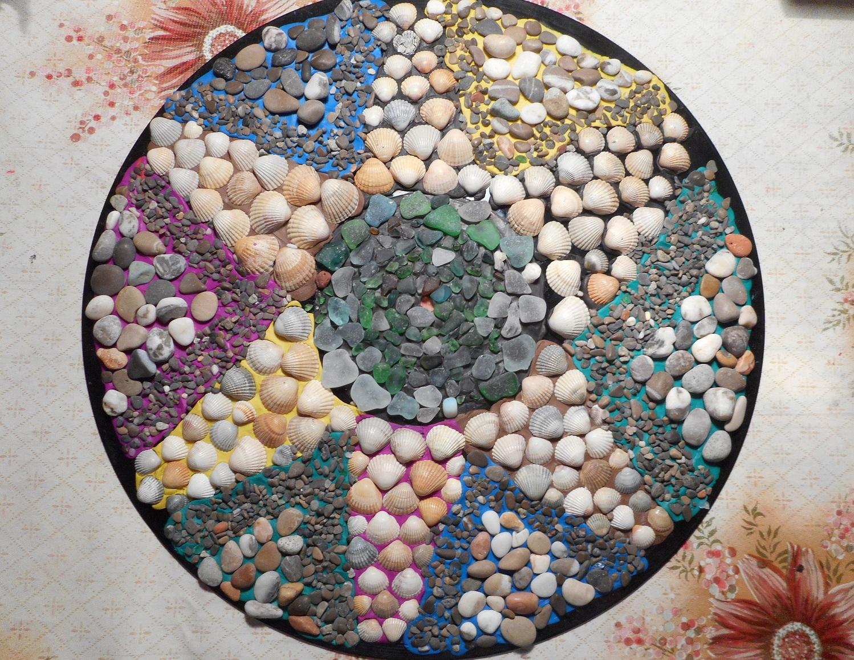 Поделки из морских ракушек и камней своими руками 662