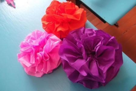 Бумажное разноцветье