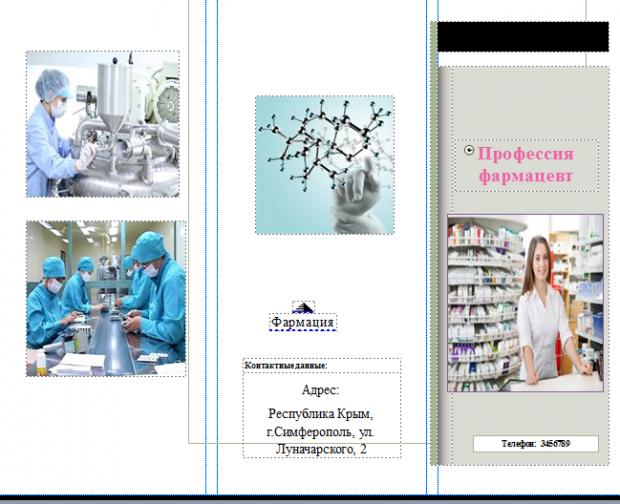 Для 2007 publisher программа буклетов